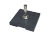 Image of Bambrella 50kg Grey Granite Base with Pullout Handle and Wheels (Also in Dark Grey)