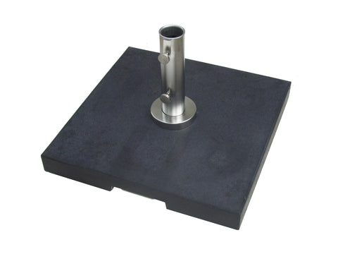Bambrella 70kg Grey Granite Base with Pullout Handle and Wheels (Also in Dark Grey)