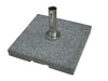 Image of Bambrella 70kg Grey Granite Base with Pullout Handle and Wheels (Also in Dark Grey)
