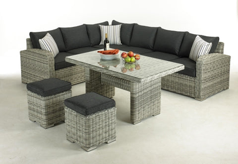 Glendale Broadwater 5 Piece Rattan Lounge Set