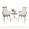 Image of Garden Art® Royal Aluminium 2 Seater Tea for Two Set in Light Taupe with Explorer Table (No Cushions)