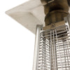 Image of Royal Fire™ 13kW Stainless Steel Pyramid Patio Heater with Quartz Glass Tube