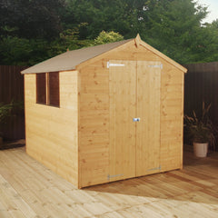 Mercia Premium Workman Apex Shed - W6ft x D8ft