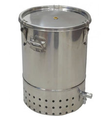 Original Organics DeLuxe Stainless Steel Indoor Wormery Composter