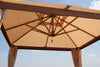 Image of Bambrella Alize with Curtians 3m Square Polyester Parasol