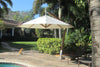 Image of Bambrella Side Wind Sirocco 3m Round Cantilever Parasol