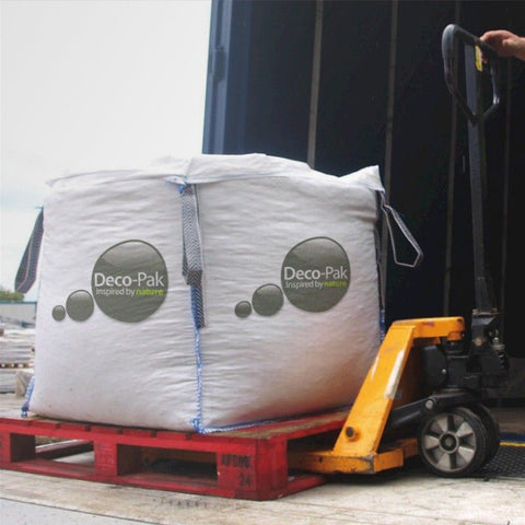 Deco-Pak Bulk Bag White Cobbles