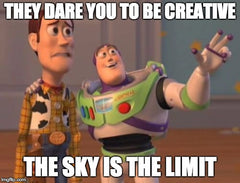 Collaborate and create and the sky's the limit