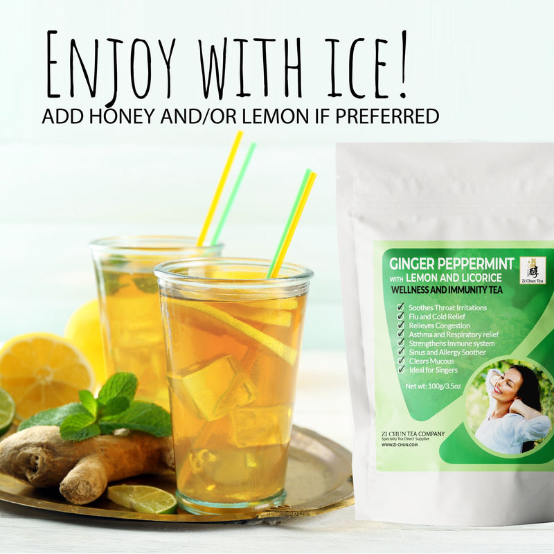 zi-chun-teas-iced-ginger-peppermint-tea-with-lemon-and-licorice