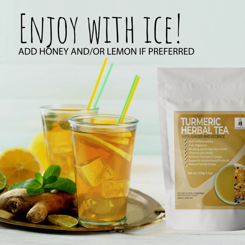 zi-chun-teas-iced-turmeric-tea-with-ginger-anti-inflammatory-tea