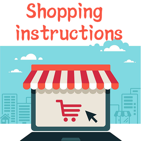 Shopping instructions