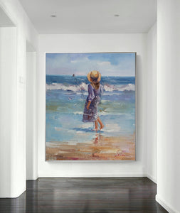 The Children Were Playing At The Seaside-Ⅰ - arttide