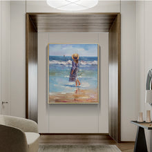 Load image into Gallery viewer, The Children Were Playing At The Seaside-Ⅰ - arttide