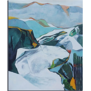 Mountain Meditations, Colors Of The Natural World, Serenity And Vibrant Textures - arttide