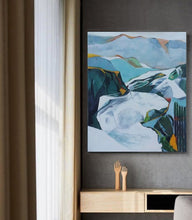 Load image into Gallery viewer, Mountain Meditations, Colors Of The Natural World, Serenity And Vibrant Textures - arttide