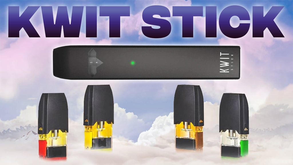 Kwit Stick Pod System - IS IT BETTER THAN THE JUUL??