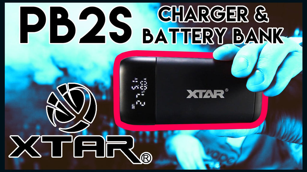 XTAR PB2S Charger - 2 IN 1 CHARGER & BATTERY BANK!!