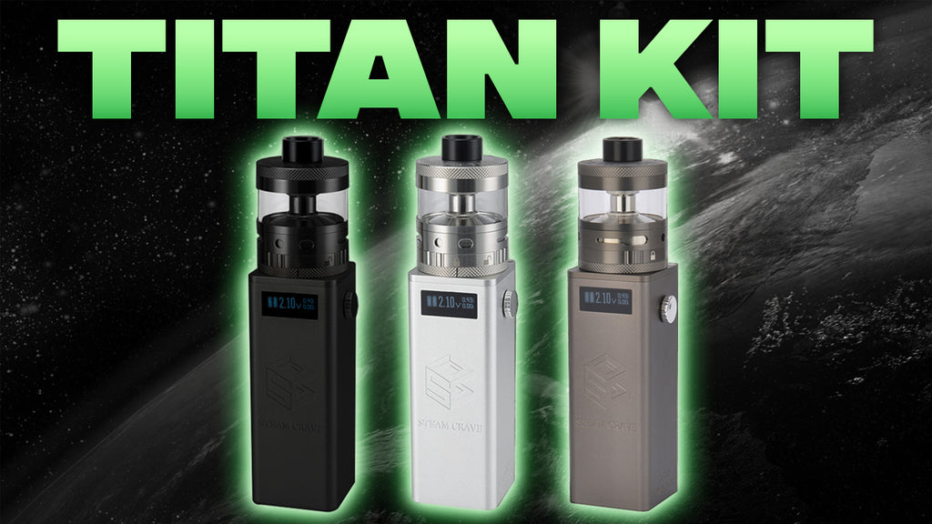 Steam Crave Titan Kit - 28ML JUICE CAPACITY?!