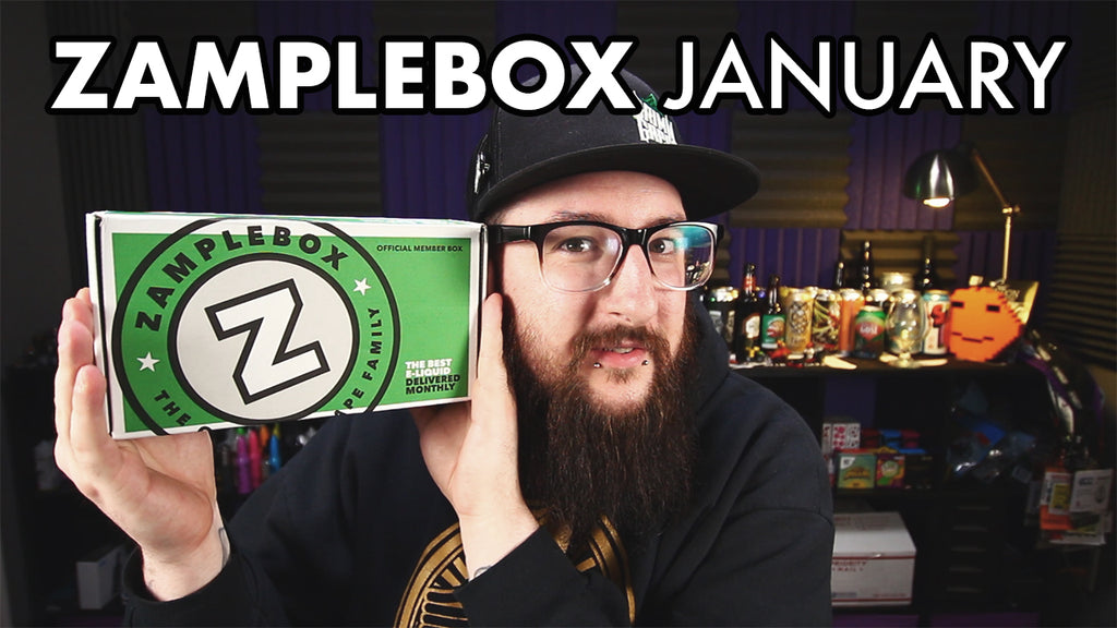 Zamplebox Unboxing January