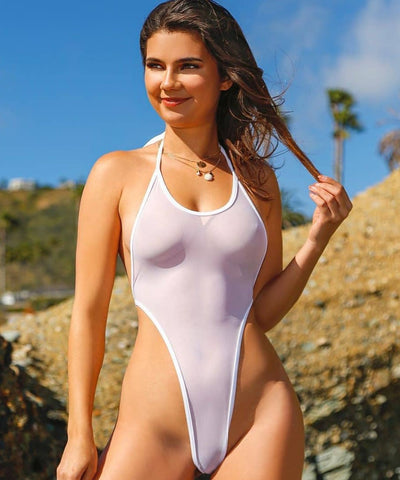 Image of Sheer Swimsuit