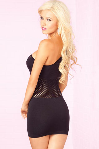 Image of DEEP COVER SEAMLESS DRESS - Freshkini