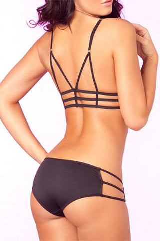 Image of CAGE ME IN 2 PC BRA & PANTY SET - Freshkini