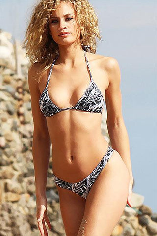 Image of *NEW* KAUAI PALMS CHEEKY BIKINI - Freshkini