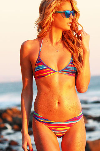 NEW CHEEKY BUM BIKINI IN *SUNSET MAUI* - Freshkini