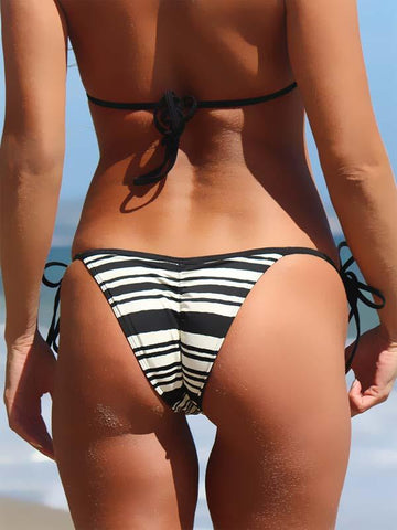 Image of SCRUNCH BUTT TIE SIDE BRAZILIAN BIKINI - Freshkini