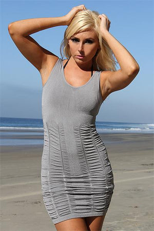 Silver Beach Dress - Freshkini