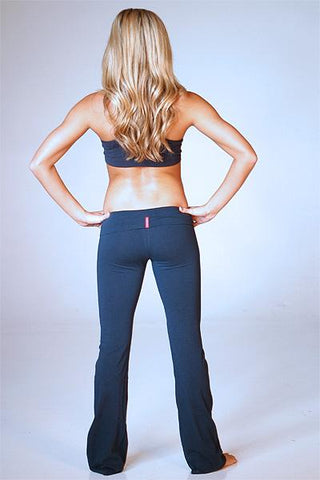 Long Yoga Pants ( Color: Navy) - Freshkini