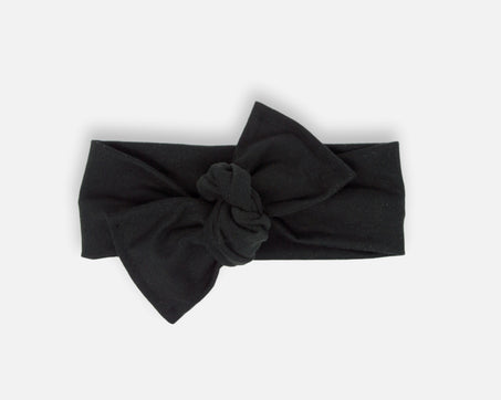 Black - Tie On Head Wrap