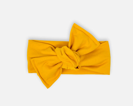 Mustard - Tie On Head Wrap