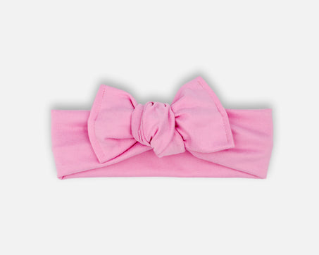Baby Pink - Tie On Head Wrap