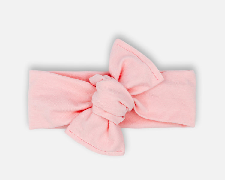 Cristal Pink - Tie On Head Wrap