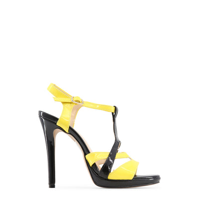 Made in Italia - IOLANDA High Heel Sandals in Black & Yellow