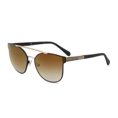 Balmain BL2522B UV2 Metal Gradient Sunglasses In Black