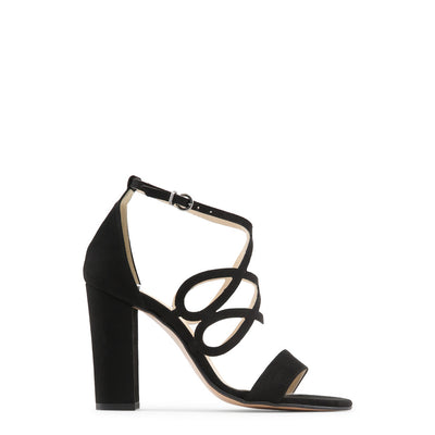 Made in Italia - CARINA Block Heel Sandals in Black