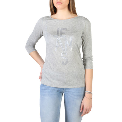 Armani Jeans - 3Y5T52_5JZJZ Women's T-shirt in Grey