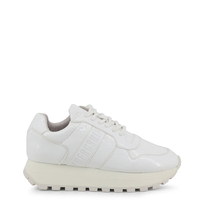 Bikkembergs FENDER 2087 PATENT Leather Sneakers White