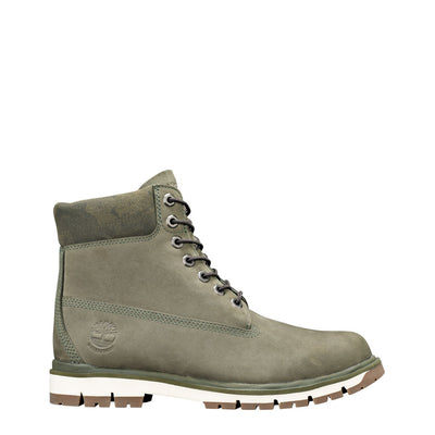 Timberland RADFORD-6INBOOT Roll Top Leather Ankle Boots in Green