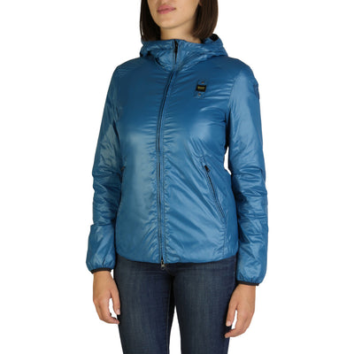 Blauer 2098 Hooded Jacket Blue