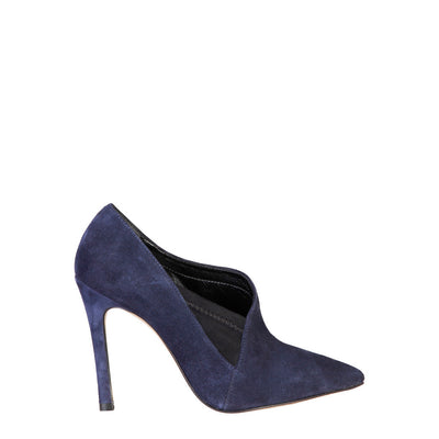 Fontana 2.0 MILU Leather High Stiletto Shoes in Blue