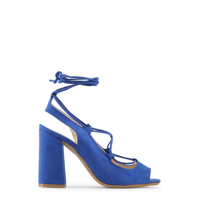 Made in Italia - LINDA Block Heel Sandals in Blue