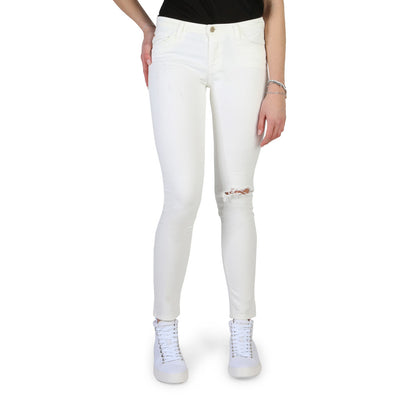 Armani Jeans - 3Y5J28_5N1CZ Women's Skinny Fit Jeans in White