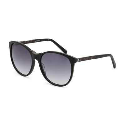 Balmain BL2070B UV2 Acetate Gradient Sunglasses in Black