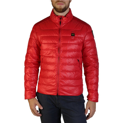 Blauer 3045 Padded & Quilted Jacket Red