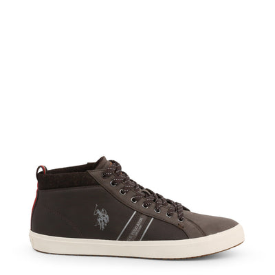 U.S. Polo Assn. - WOUCK7147W9_Y1 Men's Sneakers in Dark Brown