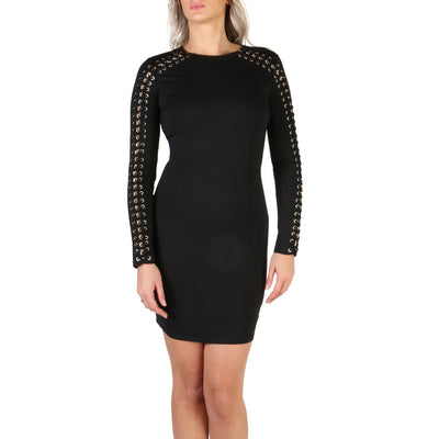Guess - W84K70_K54I0 Long Sleeve Bodycon Mini Dress in Black