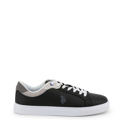 U.S. Polo - CURTY4170S9_YH1 Men's Sneakers in Black/Grey